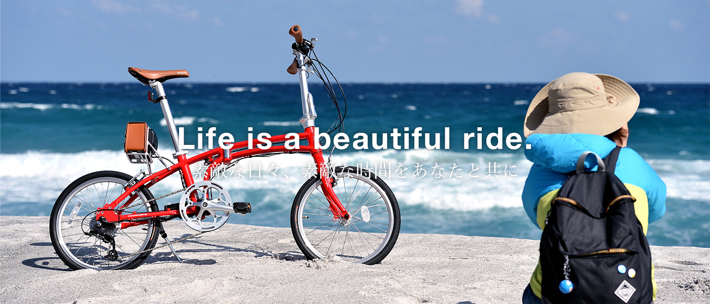 Life is a beautiful ride. DE01