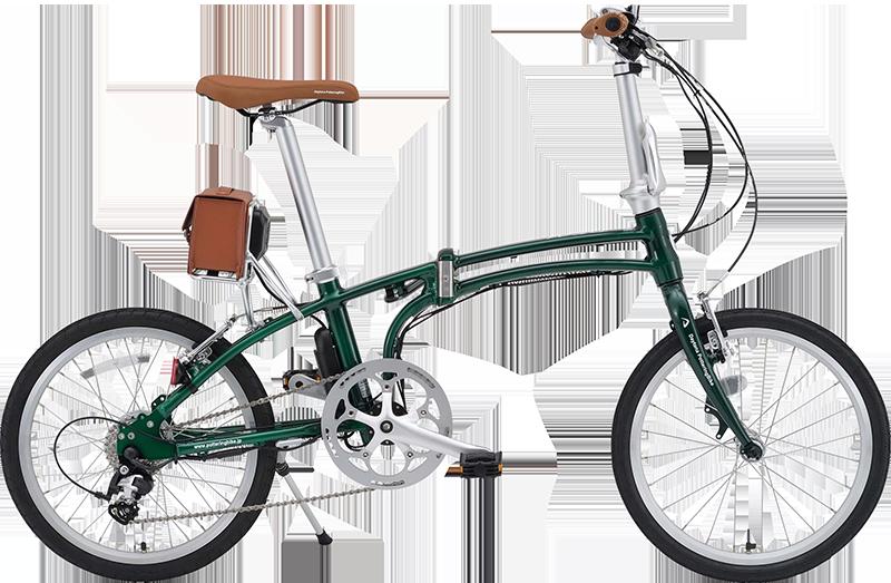 オシャレな電動折りたたみ自転車入荷しました♪